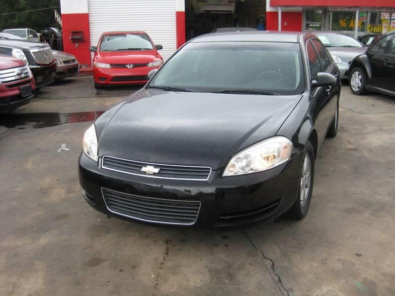 2008 Chevrolet Impala for sale at LAKE CITY AUTO SALES in Forest Park GA