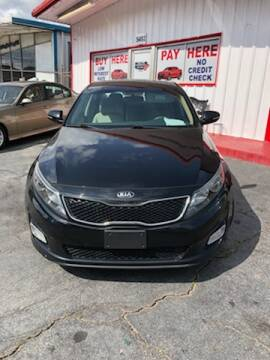 2014 Kia Optima for sale at LAKE CITY AUTO SALES - Jonesboro in Morrow GA
