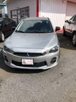 2017 Mitsubishi Lancer for sale at LAKE CITY AUTO SALES - Jonesboro in Morrow GA