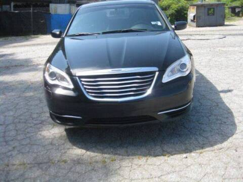 2014 Chrysler 200 for sale at LAKE CITY AUTO SALES in Forest Park GA
