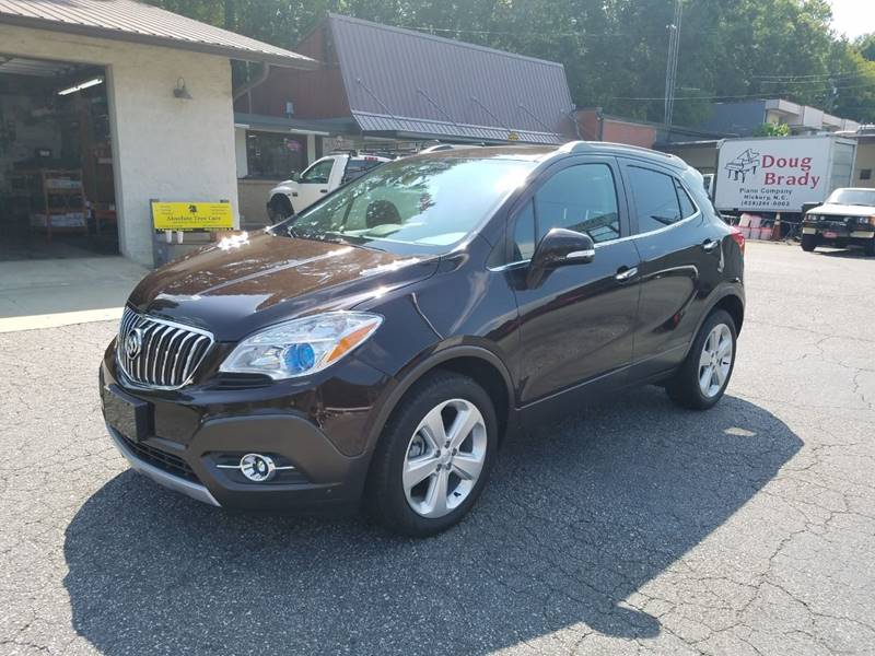 2016 Buick Encore Leather Awd 4dr Crossover
