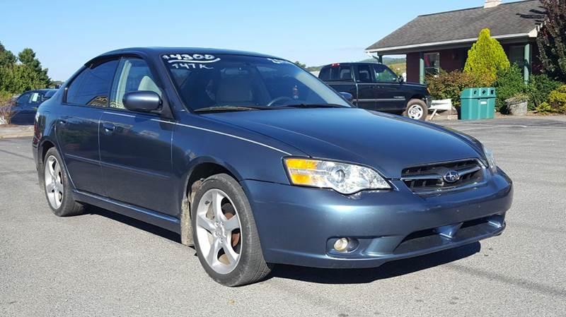 2006 Subaru Legacy 25i Special Edition Awd 4dr Sedan 25l H4 5m