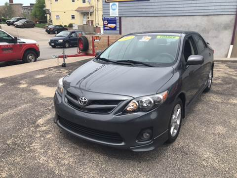 2012 Toyota Corolla for sale at Fortier's Auto Sales & Svc in Fall River MA
