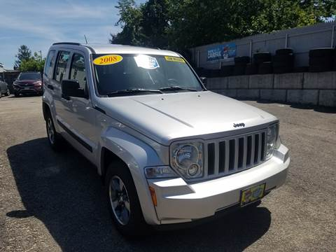 2008 Jeep Liberty for sale at Fortier's Auto Sales & Svc in Fall River MA