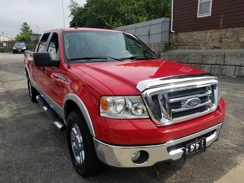 2008 Ford F-150 for sale at Fortier's Auto Sales & Svc in Fall River MA