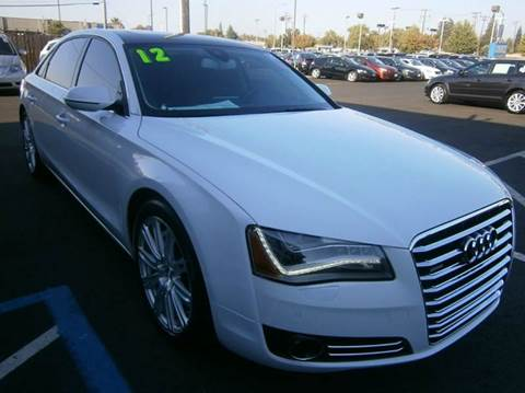 2012 Audi A8 L for sale at Choice Auto & Truck in Sacramento CA