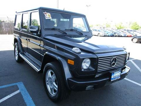 2003 Mercedes-Benz G-Class for sale at Choice Auto & Truck in Sacramento CA