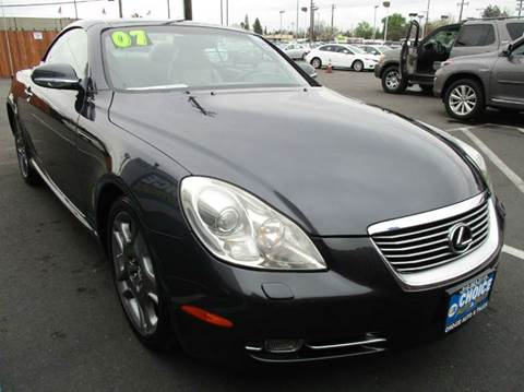2007 Lexus SC 430 for sale at Choice Auto & Truck in Sacramento CA