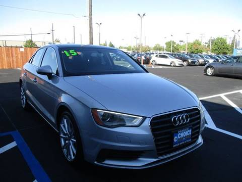 2015 Audi A3 for sale at Choice Auto & Truck in Sacramento CA