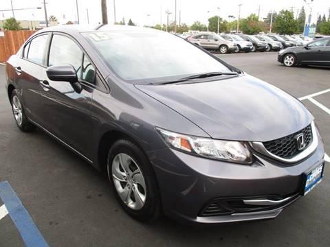 2015 Honda Civic for sale at Choice Auto & Truck in Sacramento CA
