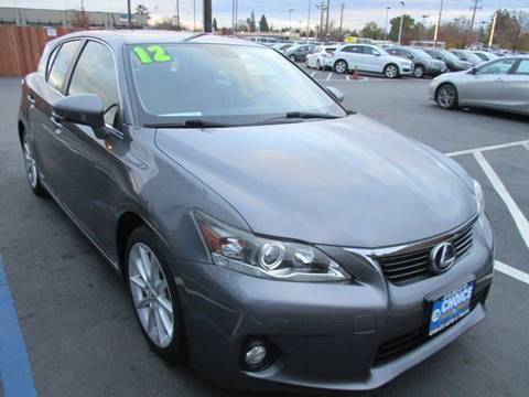 2012 Lexus CT 200h for sale at Choice Auto & Truck in Sacramento CA