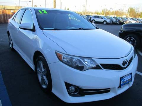 2012 Toyota Camry for sale at Choice Auto & Truck in Sacramento CA