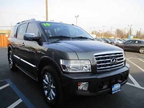 2010 Infiniti QX56 for sale at Choice Auto & Truck in Sacramento CA