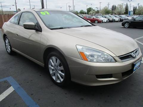 2007 Honda Accord for sale at Choice Auto & Truck in Sacramento CA