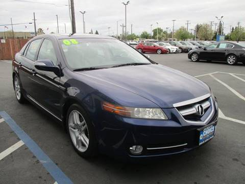 2008 Acura TL for sale at Choice Auto & Truck in Sacramento CA