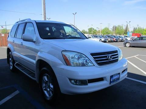 2004 Lexus GX 470 for sale at Choice Auto & Truck in Sacramento CA