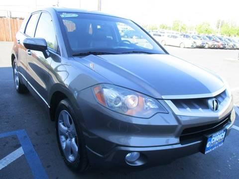 2008 Acura RDX for sale at Choice Auto & Truck in Sacramento CA