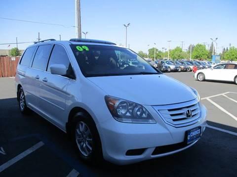 2009 Honda Odyssey for sale at Choice Auto & Truck in Sacramento CA