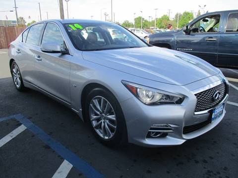 2014 Infiniti Q50 for sale at Choice Auto & Truck in Sacramento CA