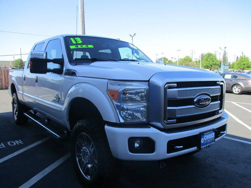 2013 Ford F-250 Super Duty for sale at Choice Auto & Truck in Sacramento CA