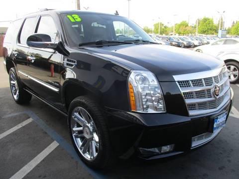 2013 Cadillac Escalade for sale at Choice Auto & Truck in Sacramento CA