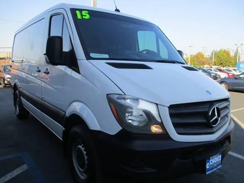 2015 Mercedes-Benz Sprinter Cargo for sale in Sacramento, CA