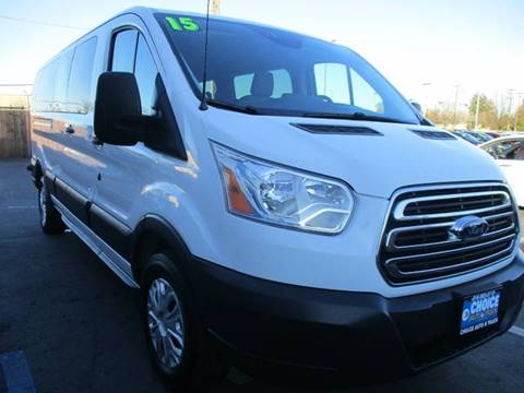 2015 Ford Transit Passenger for sale at Choice Auto & Truck in Sacramento CA