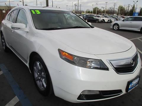 2013 Acura TL for sale at Choice Auto & Truck in Sacramento CA