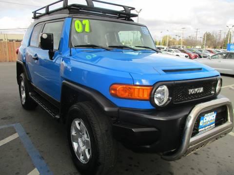 2007 Toyota FJ Cruiser for sale at Choice Auto & Truck in Sacramento CA