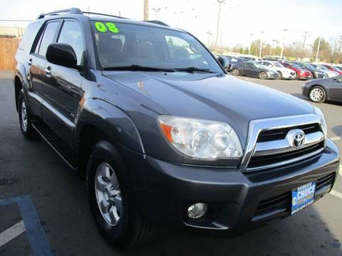 2008 Toyota 4Runner for sale at Choice Auto & Truck in Sacramento CA