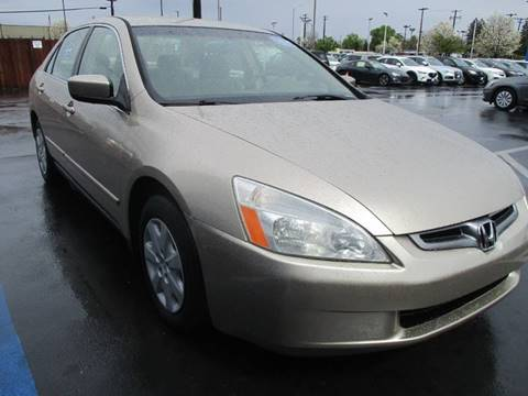 2003 Honda Accord for sale at Choice Auto & Truck in Sacramento CA