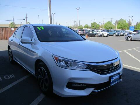 2017 Honda Accord for sale at Choice Auto & Truck in Sacramento CA