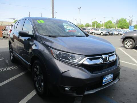 2018 Honda CR-V for sale at Choice Auto & Truck in Sacramento CA