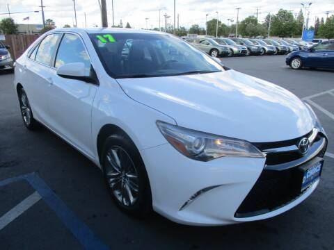 2017 Toyota Camry for sale at Choice Auto & Truck in Sacramento CA