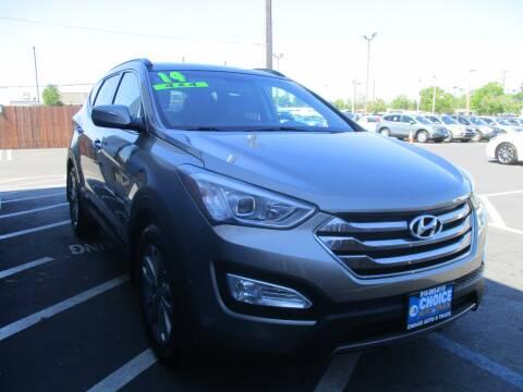 2014 Hyundai Santa Fe Sport for sale at Choice Auto & Truck in Sacramento CA