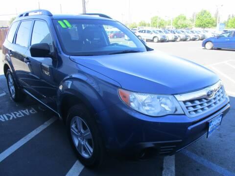 2011 Subaru Forester for sale at Choice Auto & Truck in Sacramento CA