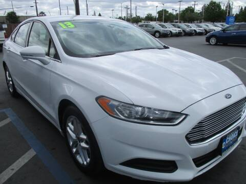 2013 Ford Fusion for sale at Choice Auto & Truck in Sacramento CA