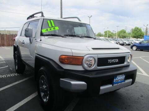 2011 Toyota FJ Cruiser for sale at Choice Auto & Truck in Sacramento CA
