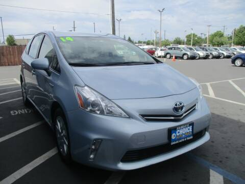 2014 Toyota Prius v for sale at Choice Auto & Truck in Sacramento CA