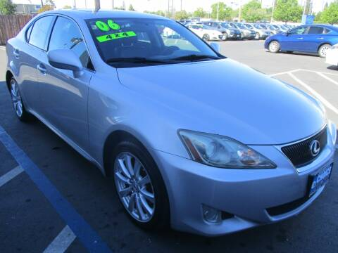 2006 Lexus IS 250 for sale at Choice Auto & Truck in Sacramento CA