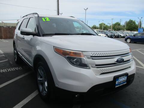 2012 Ford Explorer for sale at Choice Auto & Truck in Sacramento CA