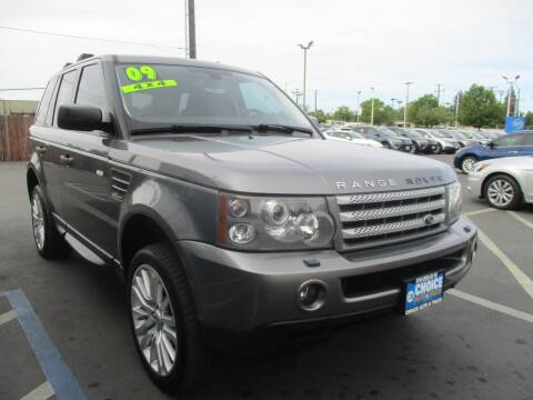 2009 Land Rover Range Rover Sport for sale at Choice Auto & Truck in Sacramento CA