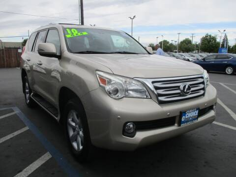2010 Lexus GX 460 for sale at Choice Auto & Truck in Sacramento CA