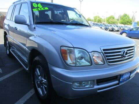 2006 Lexus LX 470 for sale at Choice Auto & Truck in Sacramento CA