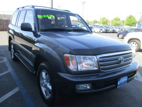 2003 Toyota Land Cruiser for sale at Choice Auto & Truck in Sacramento CA