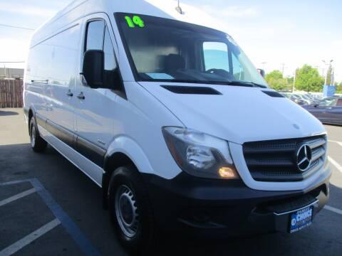 2014 Mercedes-Benz Sprinter Cargo for sale at Choice Auto & Truck in Sacramento CA