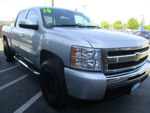 2010 Chevrolet Silverado 1500 for sale at Choice Auto & Truck in Sacramento CA