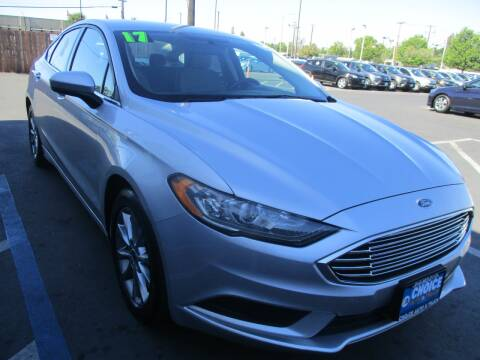2017 Ford Fusion for sale at Choice Auto & Truck in Sacramento CA