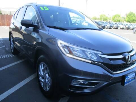 2015 Honda CR-V for sale at Choice Auto & Truck in Sacramento CA