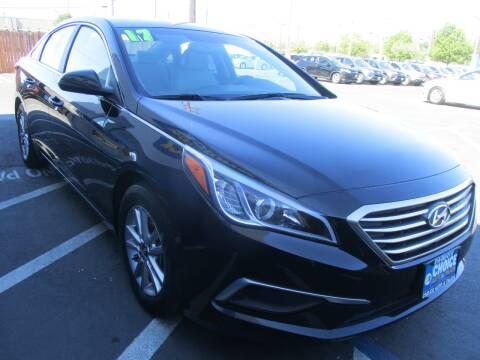 2017 Hyundai Sonata for sale at Choice Auto & Truck in Sacramento CA